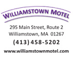 Williamstown Motel, one of the Berkshires outstanding lodging and motel values.